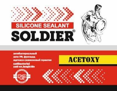 چسب سیلیکون SOLDIER